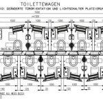 Tegning stor toalettvogn