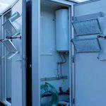 Teknisk rom med varmtvannsbereder